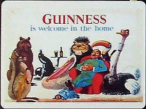 Guinness Welcome In Home steel fridge magnet