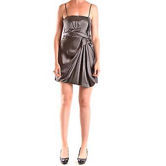Liu Jo Grey Silk Dress