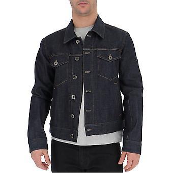 Prada Blue Denim Outerwear Jacket