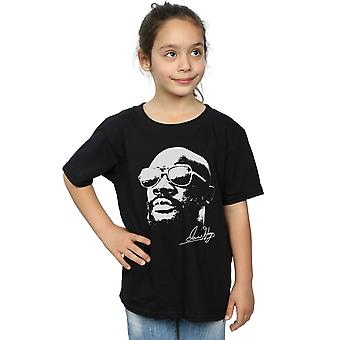 Isaac Hayes Girls Cool White T-Shirt