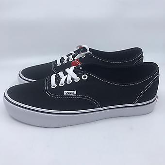 Zapatillas tela zapatos negro nuevo caja original de las mujeres furgonetas UA auténtico Lite de los hombres