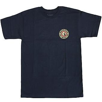 Brixton Ltd, Ottawa Standard Fit T-Shirt Navy