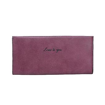 Intrigue Womens/Ladies Card And Note Wallet