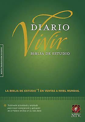 Biblia de Estudio del Diario Vivir-Ntv by Tyndale House Publishers -