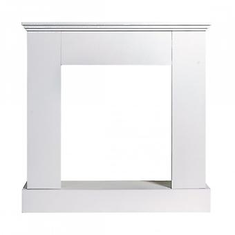 Rebecca Furniture Decorative frame white wood contemporary style lounge