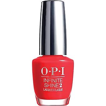 OPI Infinite Shine Unrepentantly Red - Infinite Shine 10 Day Wear 15ml (ISL08)