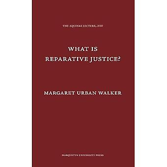 What is Reparative Justice? (Aquinas Lecture)