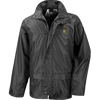 Royal Munster Fusiliers Veteran - Licensed British Army Embroidered Waterproof Rain Jacket