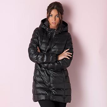 Womens Brave Soul Padded Jacket In Black