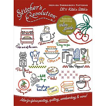 Stitcher's Revolution Iron On Transfers Kitchen Inspirations Sr 11