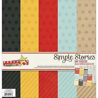 Say Cheese Simple Basics Paper Kit 12