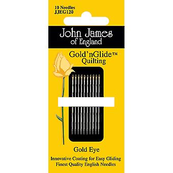 Gold'n Glide Quilting Needles  Size 12 10 Pkg Jjeg120 12
