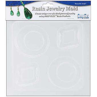Resin Jewelry Reusable Plastic Mold 6.25