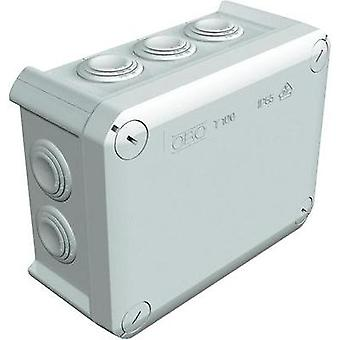 Junction box (L x W x H) 150 x 116 x 67 mm OBO Bettermann 2007077 Light grey (RAL 7035) IP66