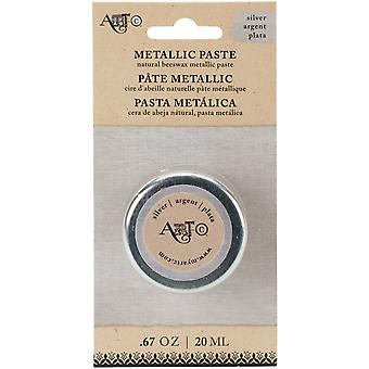 Art-C Wax Paste Metallic 20ml-Silver ARTCWAX-25970