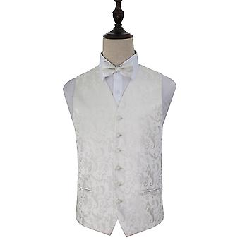 Passion Ivory Wedding Waistcoat & Bow Tie Set