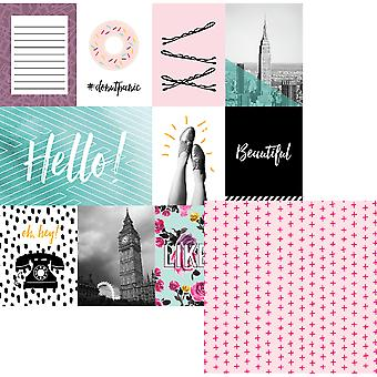 Urban Chic Double-Sided Cardstock 12