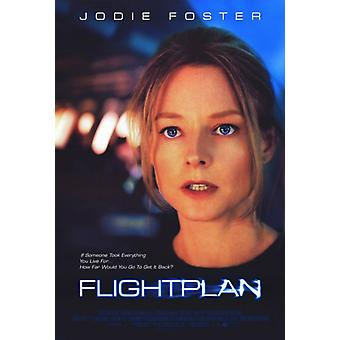 Flightplan Movie Poster drucken (27 x 40)