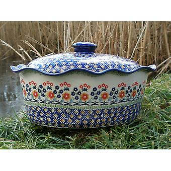 Casserole oval with cover, height 16 cm, Ø 34 x 26 cm, 102, BSN m-1995