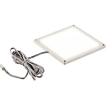 LED panel 3 W Warm white Heitronic 27010 White