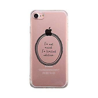 Limited Edition Transparent Phone Case Cute Clear Phonecase