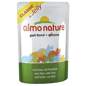 Almo Nature Classic In Jelly With Tuna 55g (Pack of 24)