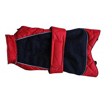 Go Walk Quilted Thermal Coat Red 28