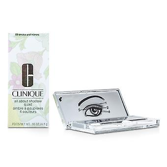 Clinique, All About cień Quad - # 09 dym i lustra 4x1.2g/0.04oz