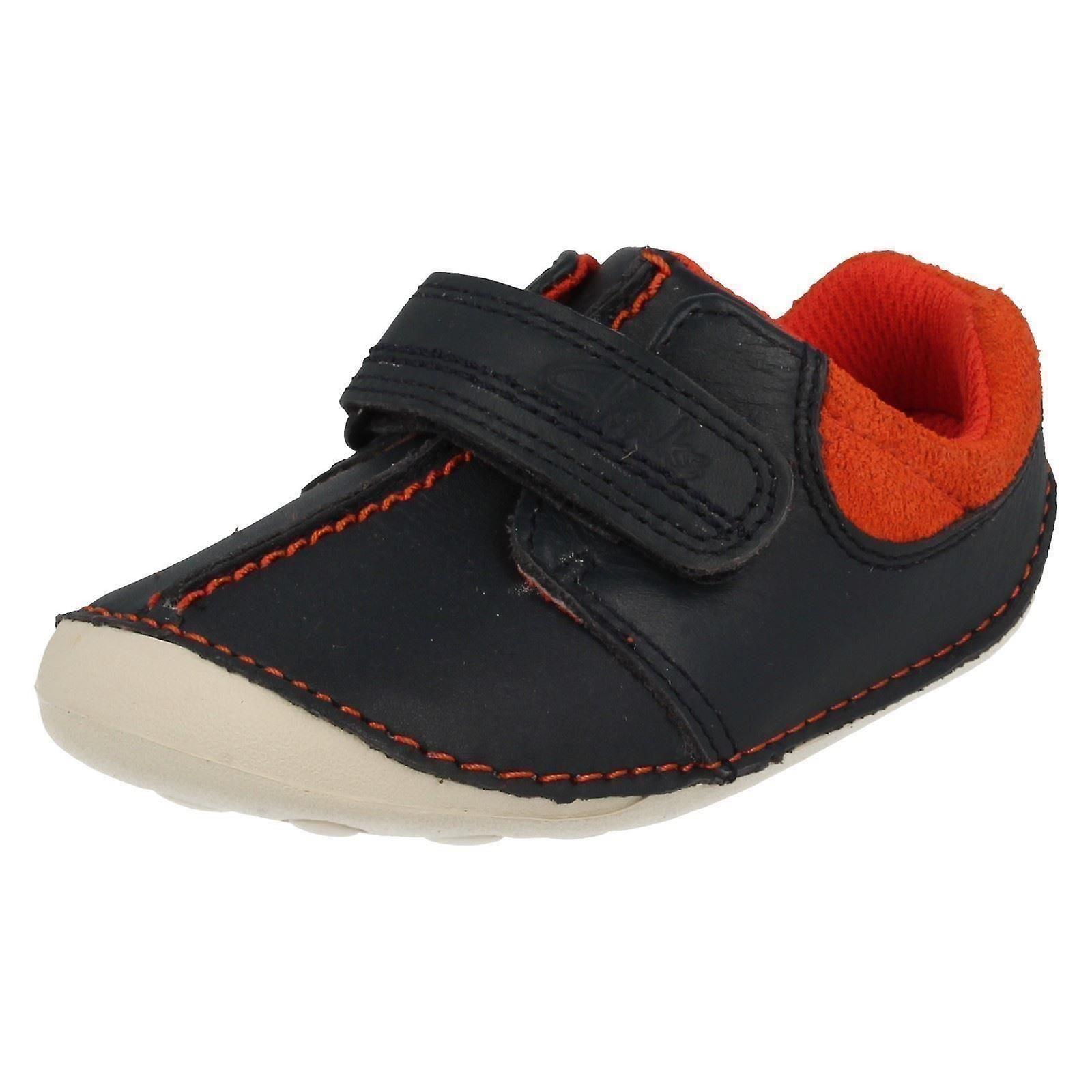 Boys Clarks First Shoes/Cruisers Tiny Joe Joe Tiny 03d035
