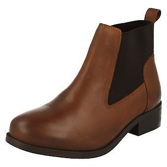 Damer plats på elastisk sida Ankle Boot F50649