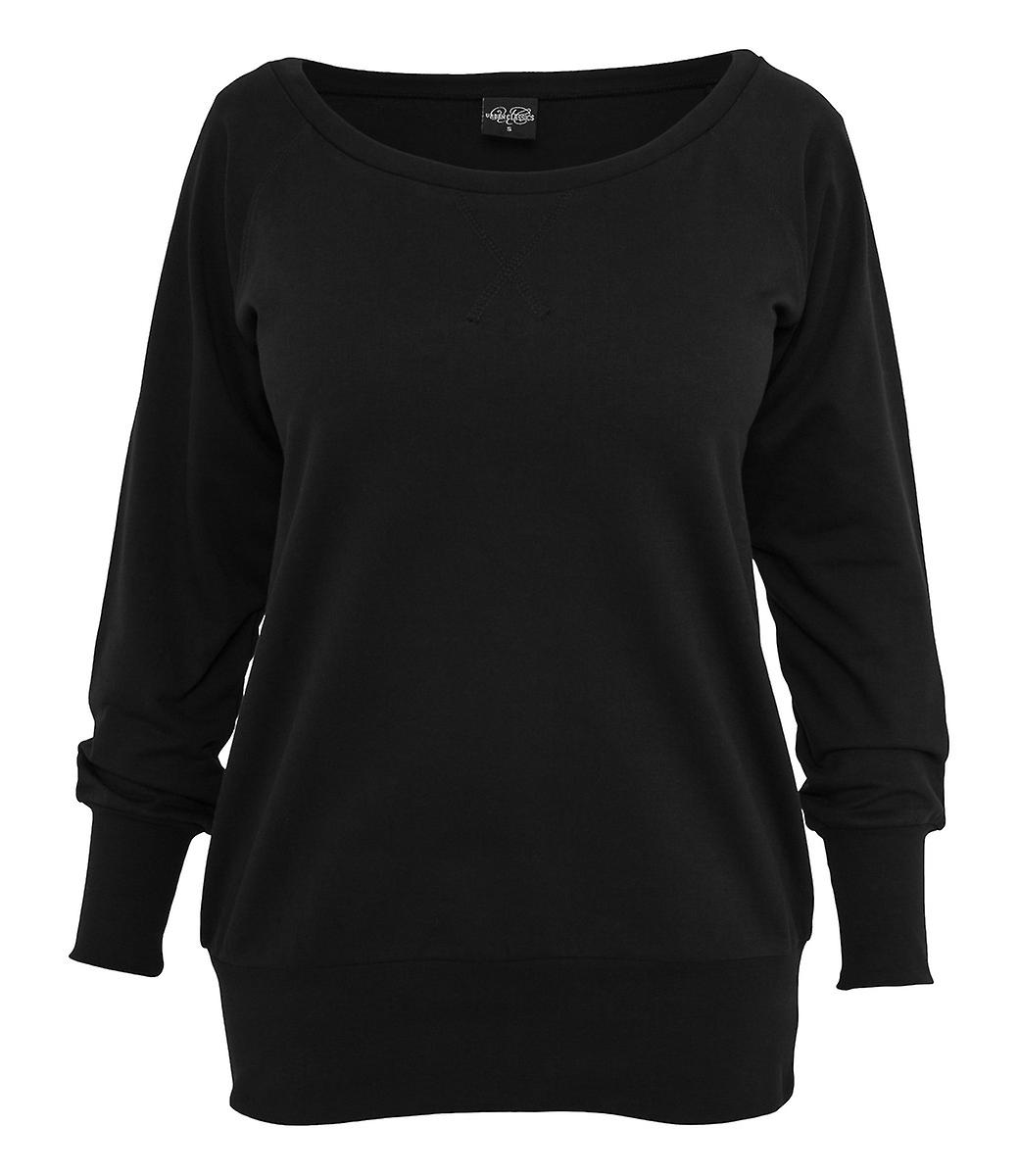 Urban classics ladies Wideneck crewneck