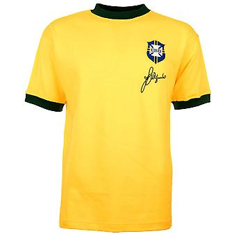 Brazil 1970 World Cup Jarzinho Retro Football Shirt
