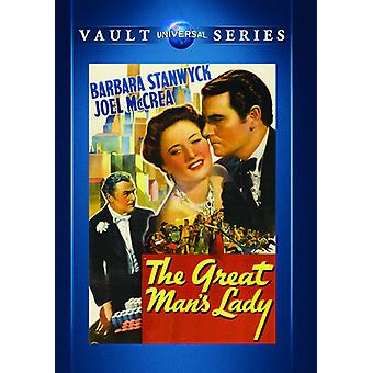 Great Man's Lady [DVD] USA import