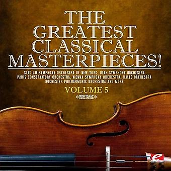 Greatest Classical Masterpieces! - Vol. 5-Greatest Classical Masterpieces! [CD] USA import