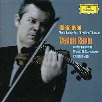 L.V. Beethoven - Beethoven: Violin Concerto; Kreutzer Sonata [CD] USA import