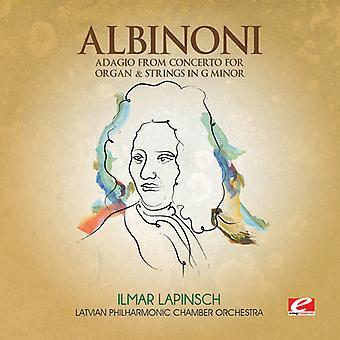 アルビノーニのアダージョ協奏曲からオルガン ・文字列 [CD] USA 輸入