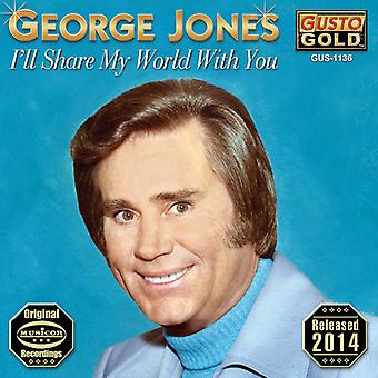 George Jones - Ill Share My World with You [CD] USA import