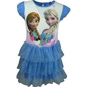 Disney Frozen Girls Fancy Short Sleeve Dress