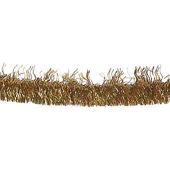 Folie krans krans 50 år guld 4 m bröllop dekoration guld tid