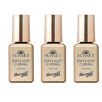 Barry M X 3 Barry M Sunset Top Coat