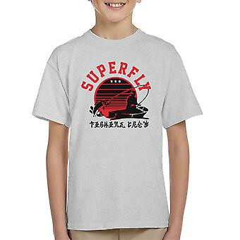 Superfly Angeln Crew Kinder T-Shirt