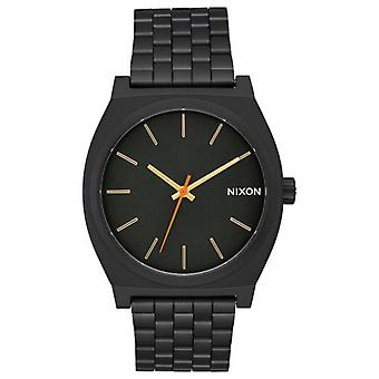 Nixon The Time Teller Watch - Black/Gold