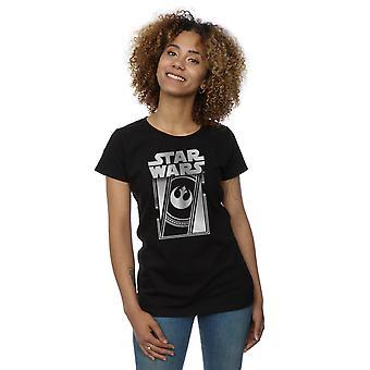Star le dernier Jedi armature métallique T-Shirt Wars féminin