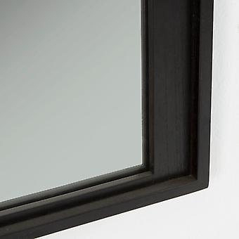 Wellindal Espejo 70x3'5x180 Madera Negro (Home , Decoration , Mirrors)