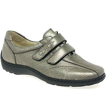 Waldlaufer Stone Womens Velcro Fastening Shoes