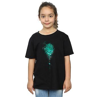 Harry Potter Girls Hogwarts Crest Mist T-Shirt