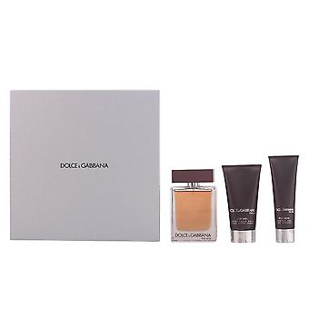 Dolce & Gabbana en gave sæt 100ml EDT + 75ml Aftershave balsam + 50ml Shower Gel