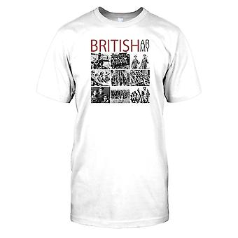 Herren T-shirt DTG Print - World War 2 - The British Army - World