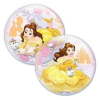 Qualatex Disney Princess Belle enda Bubble ballong