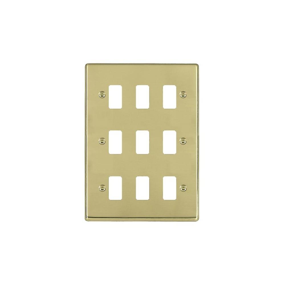 Hamilton Litestat Hartland Polished Brass 9g Apert Gridfix Plate+Grid
